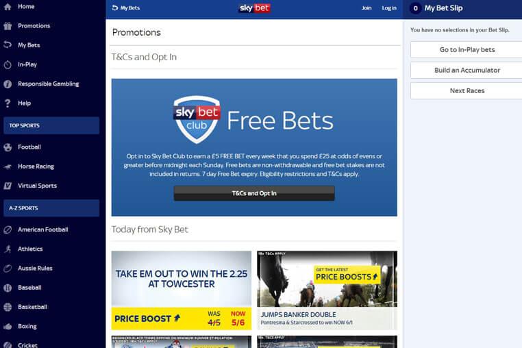 Sky sports betting promotional codes bettingen notaire debouche
